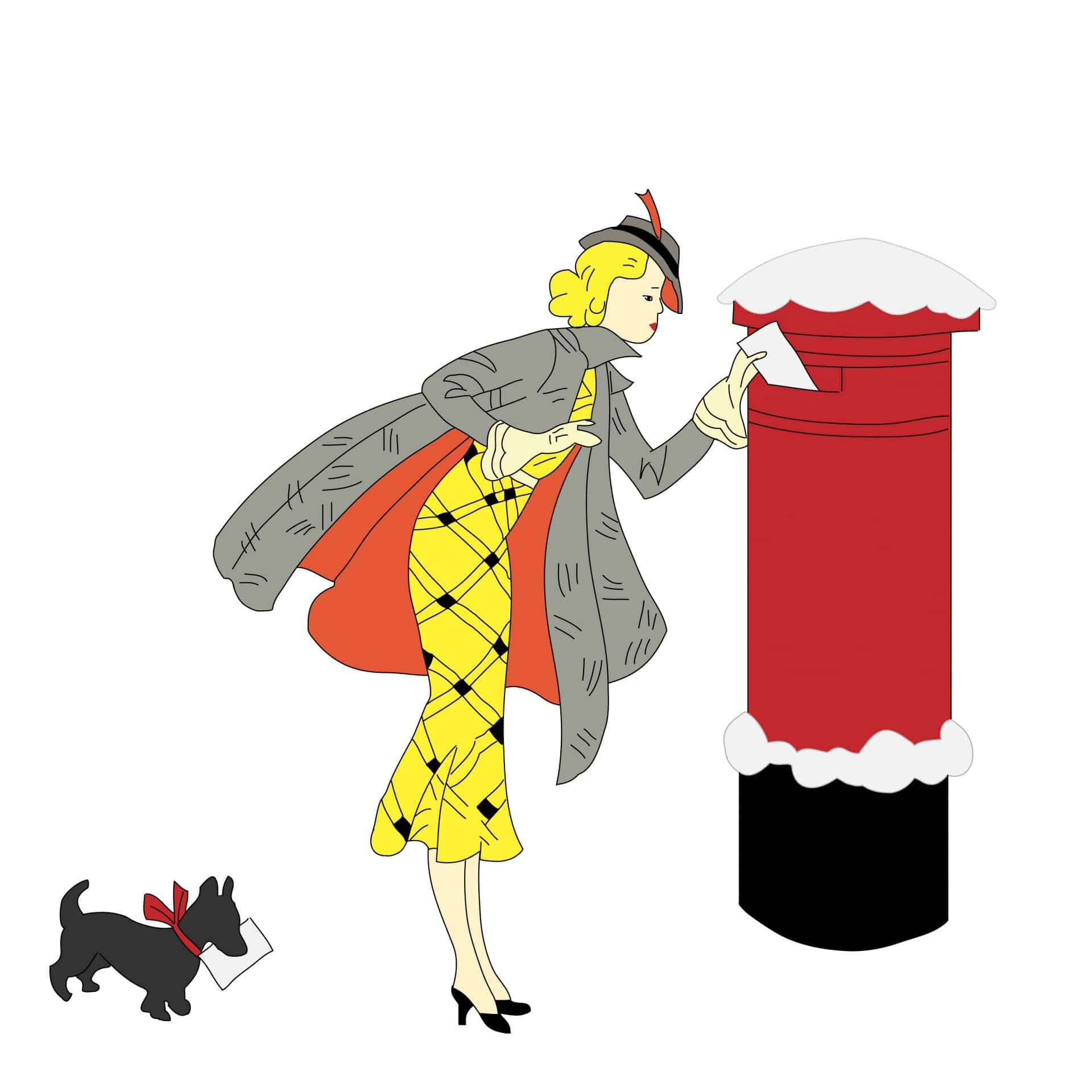 Please Mr Postman….| Hospice Charity Christmas Cards 2019